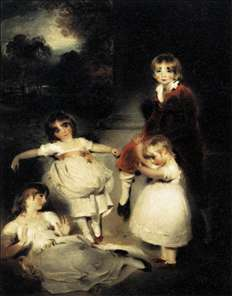 Portrait of the Children of John Angerstein