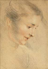 Study of a Woman's Head