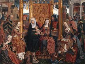 The Holy Kinship Altarpiece (central panel)