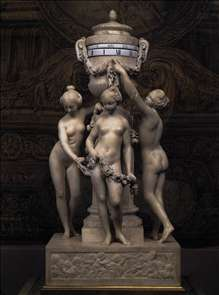 Clock: The Three Graces