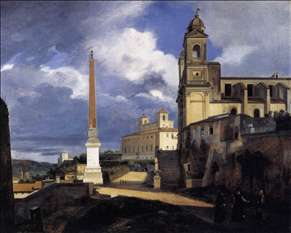 S. Trinità dei Monti and the Villa Medici, Rome