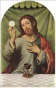 Christ with the Chalice