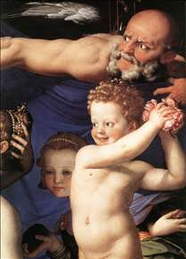 Venus, Cupide and the Time