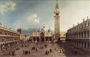 Piazza San Marco with the Basilica