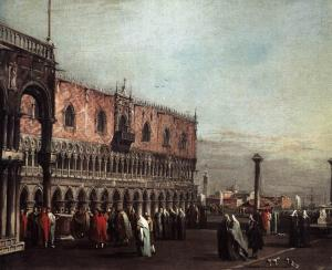Piazzetta with the Doge's Palace