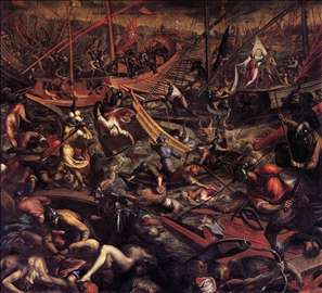 Naval Victory of the Venetians at Jaffa
