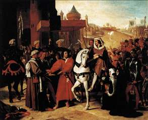The Entry of the Future Charles V into Paris in 1358