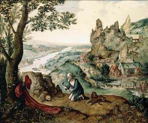 Landscape with the Penitent St Jerome