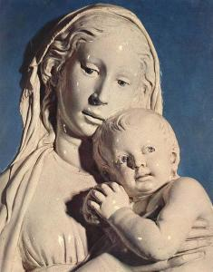 Madonna of the Apple (detail)