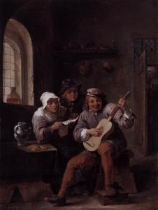 Peasants Making Music