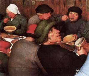 Peasant Wedding (detail)