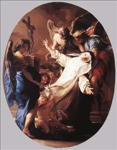 The Ecstasy of St Catherine of Siena