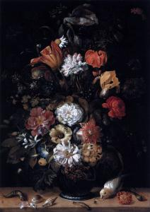 Bouquet of Flowers with Animals