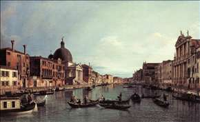 Grand Canal: Looking South-West