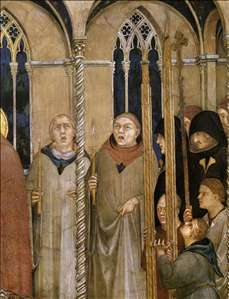 Burial of St Martin