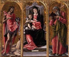 Virgin and Child with Sts John the Baptist and Andrew