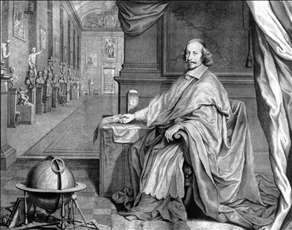 Cardinal Mazarin in His Palace