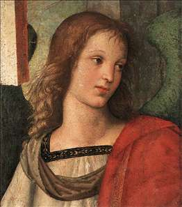 Angel (fragment of the Baronci Altarpiece)