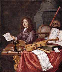 Self-Portrait with a Vanitas Still- Life