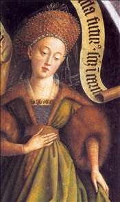 The Ghent Altarpiece: Cumaean Sibyl (detail)