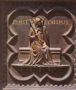 Fortitude (panel of the south doors)