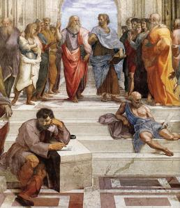 The School of Athens (detail)