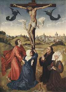 Crucifixion Triptych (central panel)