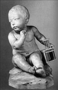 Infant with a Cage
