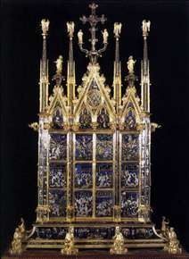 Reliquary of the Santo Corporale