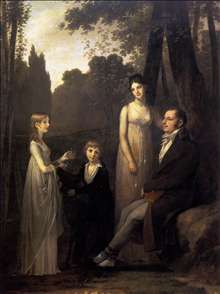 Rutger Jan Schimmelpenninck with his Wife and Children