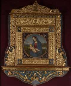 Connestabile Madonna (with frame)