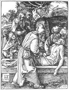 Small Passion: 28. The Entombment