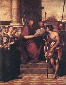 San Giovanni Crisostomo and Saints