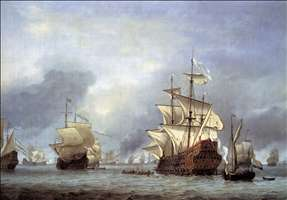 The Taking of the English Flagship the Royal Prince