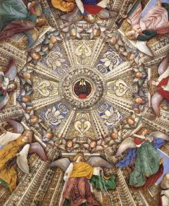 Vaulting decoration of the Sacristy of St Mark (detail)