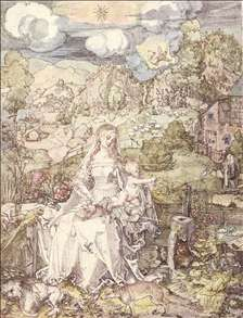 The Virgin among a Multitude of Animals