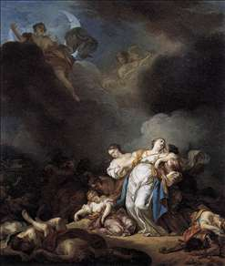 Apollo and Diana Attacking Niobe and her Children