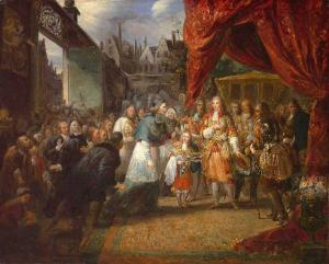 Louis XIV Entering Paris
