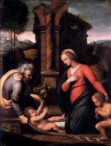 Holy Family with the Infant St John