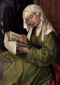 The Magdalene Reading (detail)