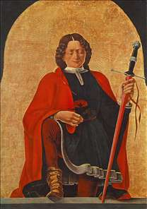 St Florian (Griffoni Polyptych)
