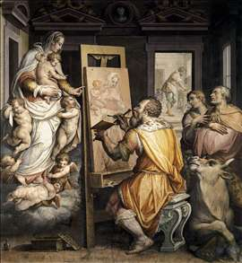 St Luke Painting the Virgin
