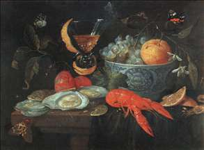 Still-Life with Fruit and Shellfish