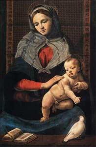 Virgin and Child with a Dove