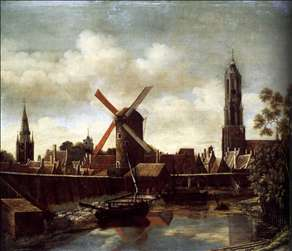 The Harbour of Delft
