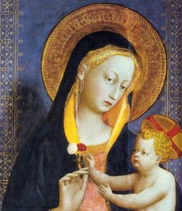 San Domenico Altarpiece (detail)