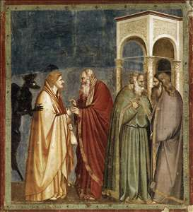 No. 28 Scenes from the Life of Christ: 12. Judas' Betrayal