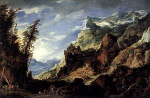 Large Mountain Landscape