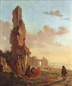 Ruins at the Sea