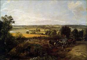 The Stour-Valley with the Church of Dedham